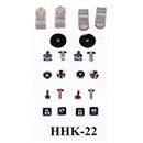 Adams Helmet Hardware Kit large